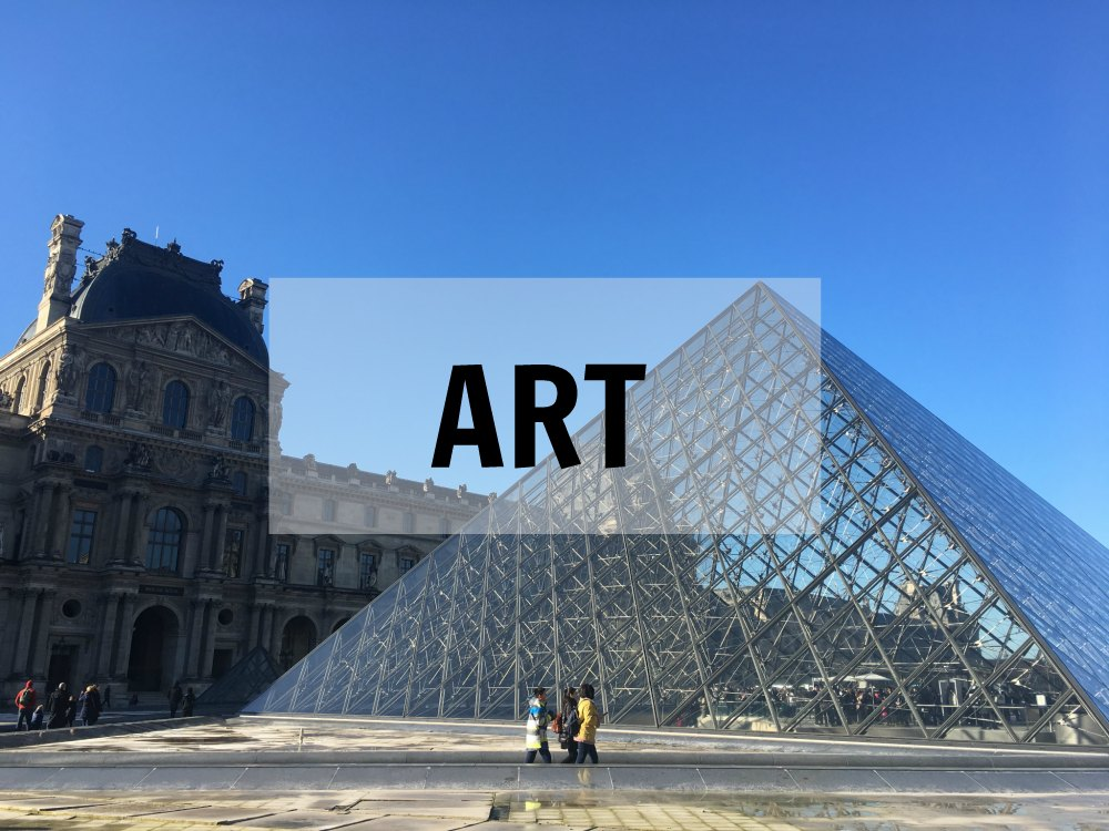 Bucket List France Epic List - Art