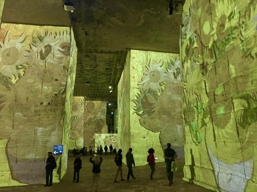 Van Gogh exhibition - Carrières de Lumière - Baux de Provence