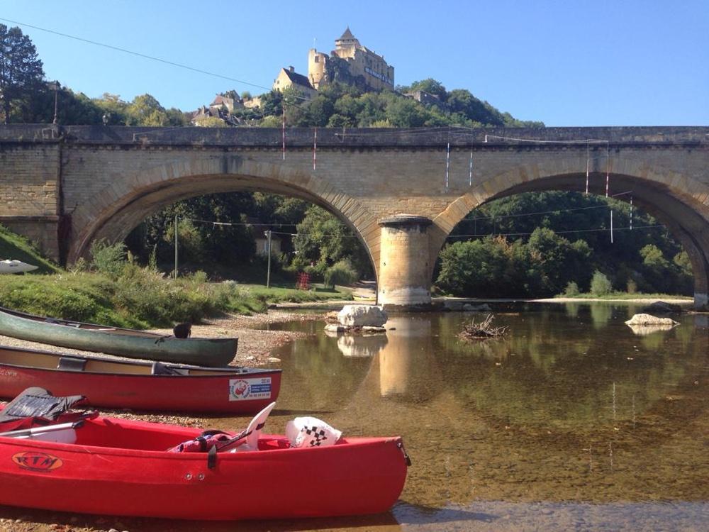 Castelnaud + canoe (Dordogne)