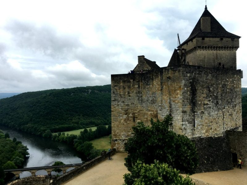 Chateau de Castelnaud in the Dordogne