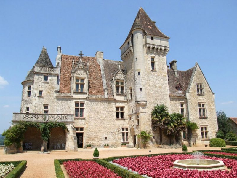 Josephine Baker Chateau in the Dordogne, France