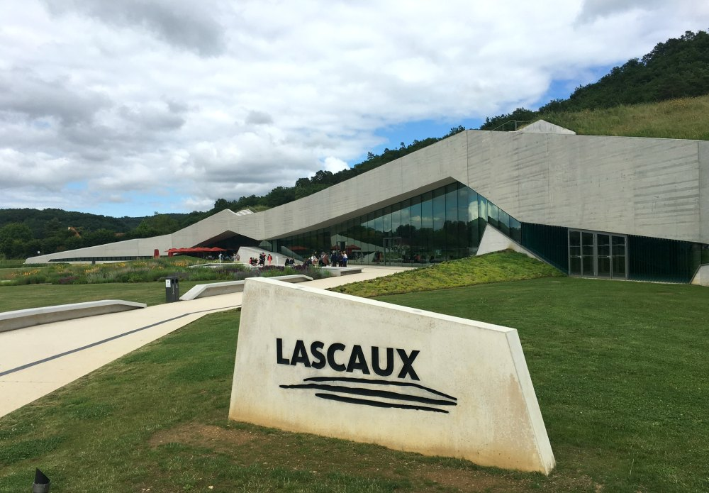Modern new Lascaux IV building
