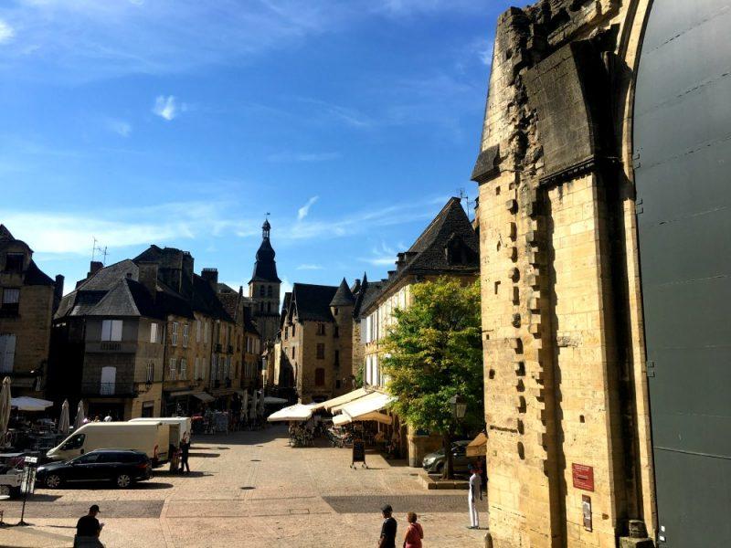 Sarlat, Place de la Liberté, Dordogne