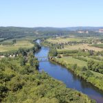 View from Domme - Dordogne