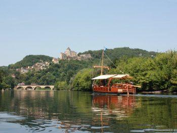 Castelnaud + gabarre