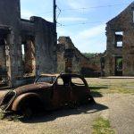 Doctor's Burnout Car in Oradour-sur-Glâne