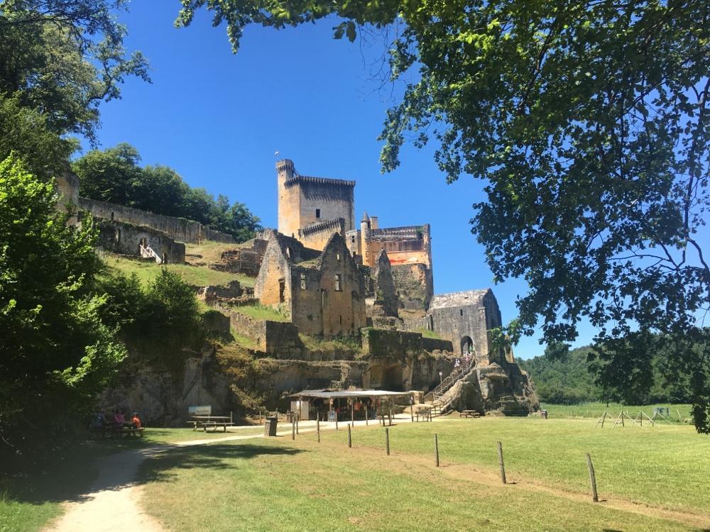 Chateau de Commarque, Dordogne, France
