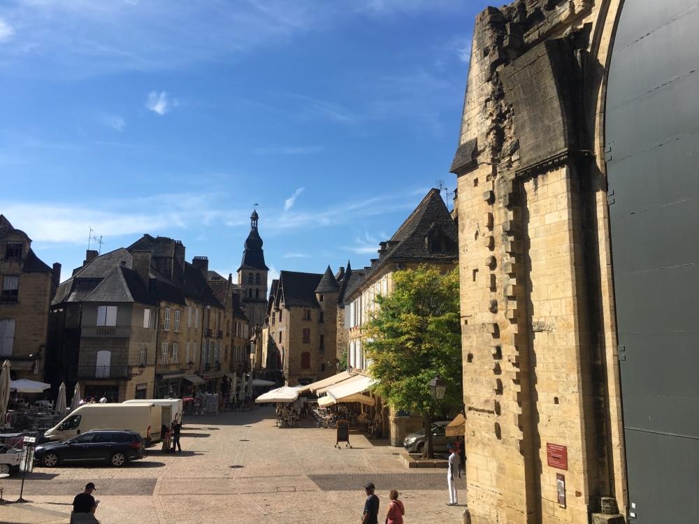 Sarlat Place de la Liberté, medieval town