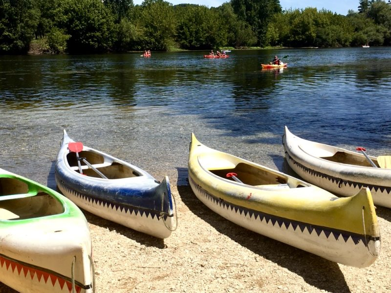 Canoeing on the Dordogne - bucket list France