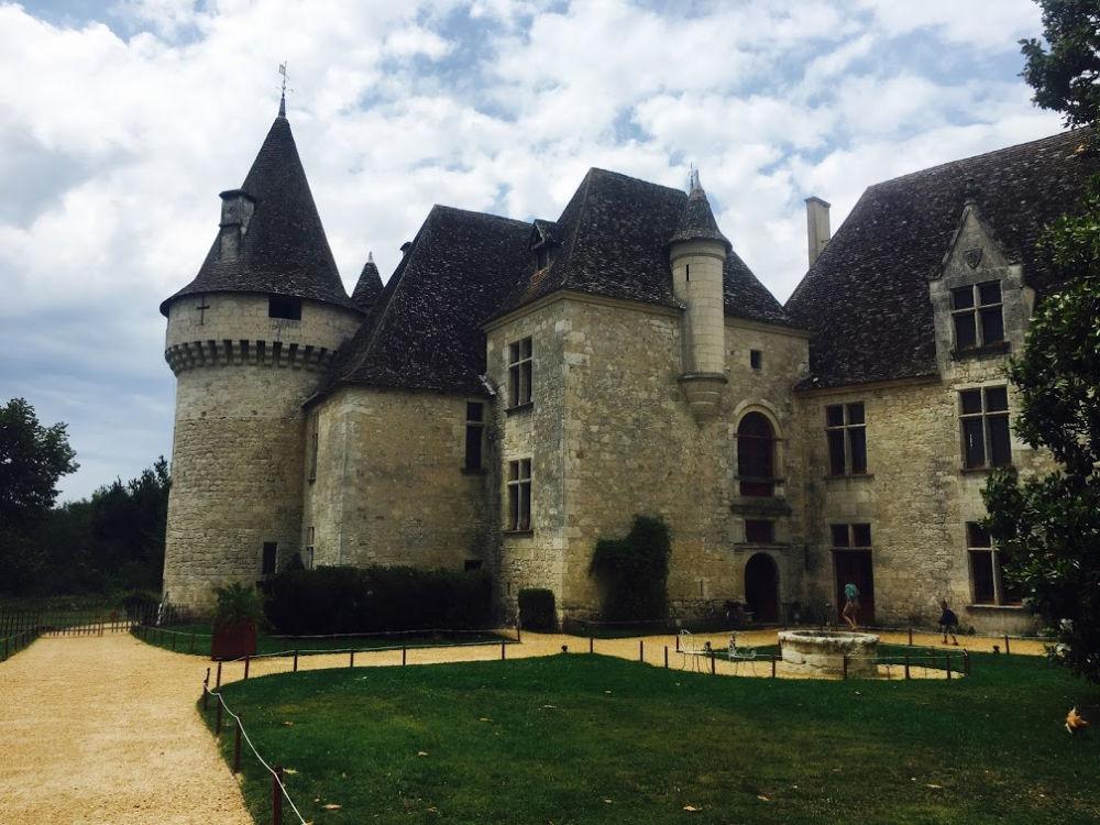 Chateau de bridoire, Dordogne, France