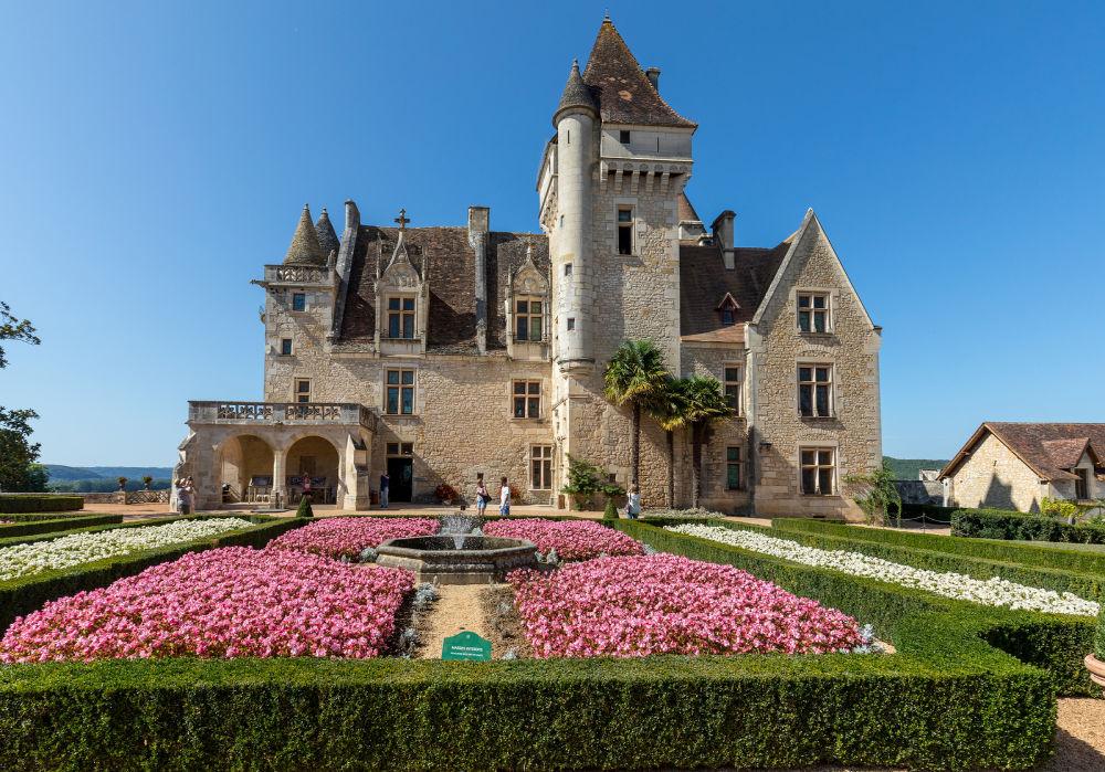 Chateau des Milandes, Dordogne, Francec