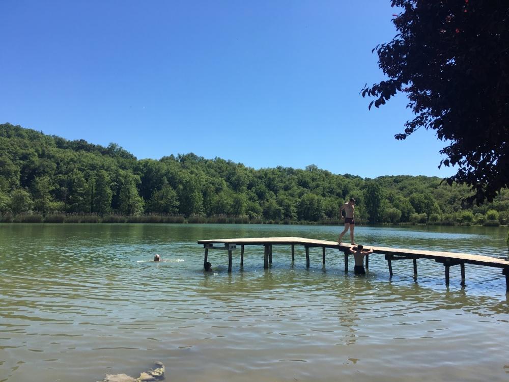 Etang de Tamnies, Dordogne