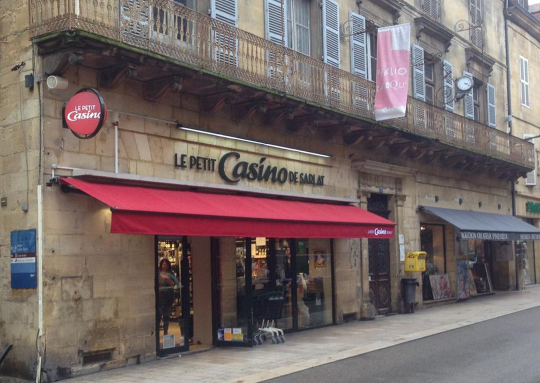Casino supermarket in Sarlat
