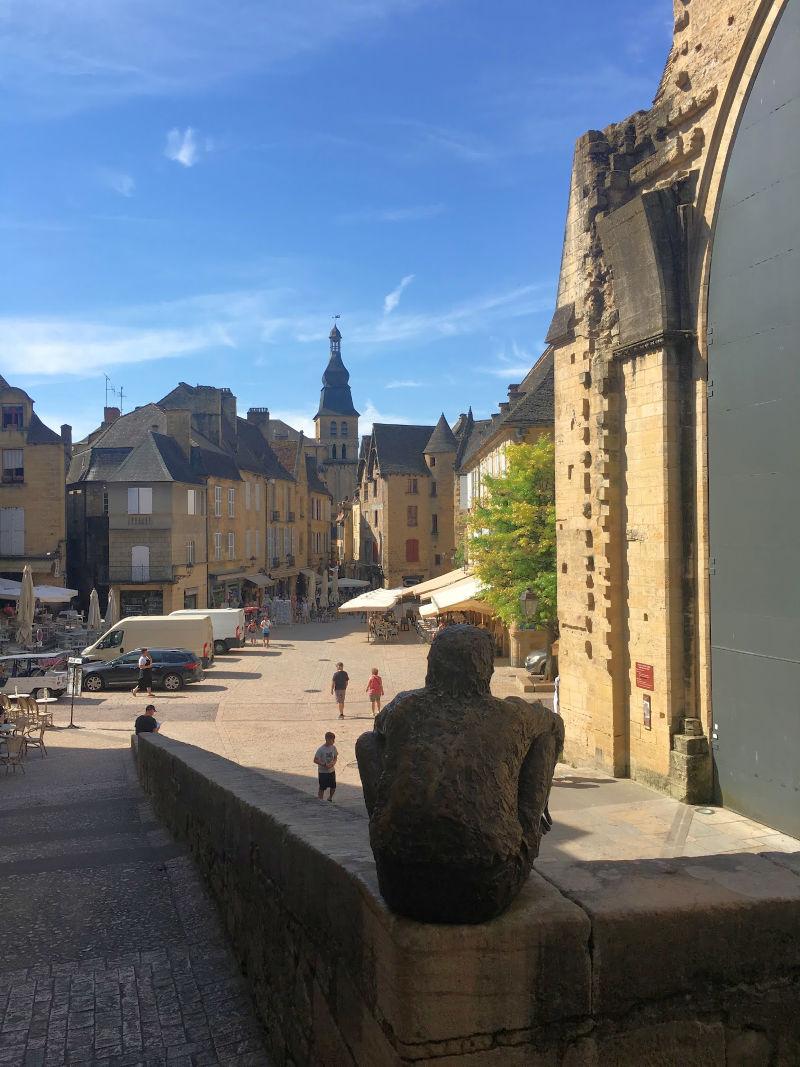 Place de la Liberté in Sarlat, Dordogne